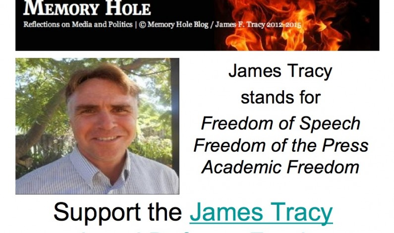 James Tracy: How Questioning the Sandy Hook Official Narrative Cost Me My Tenured Professorship