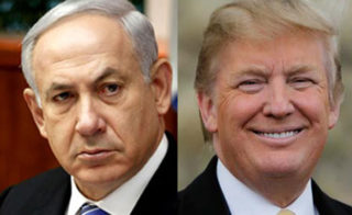 Bibi will not be happy to see Trump and Fillon wanting to save Assad to fight the jihadis