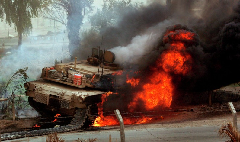 Mosul Fight Proves Abrahm Tank a DeathTrap