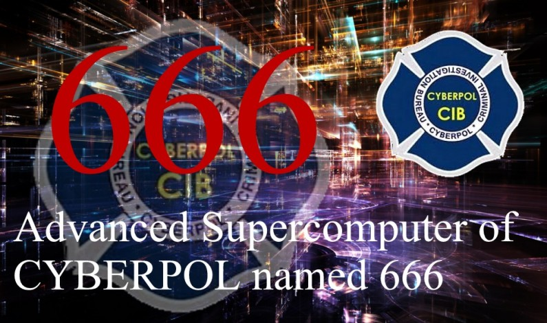 Advanced Supercomputer of CYBERPOL named 666 is here !