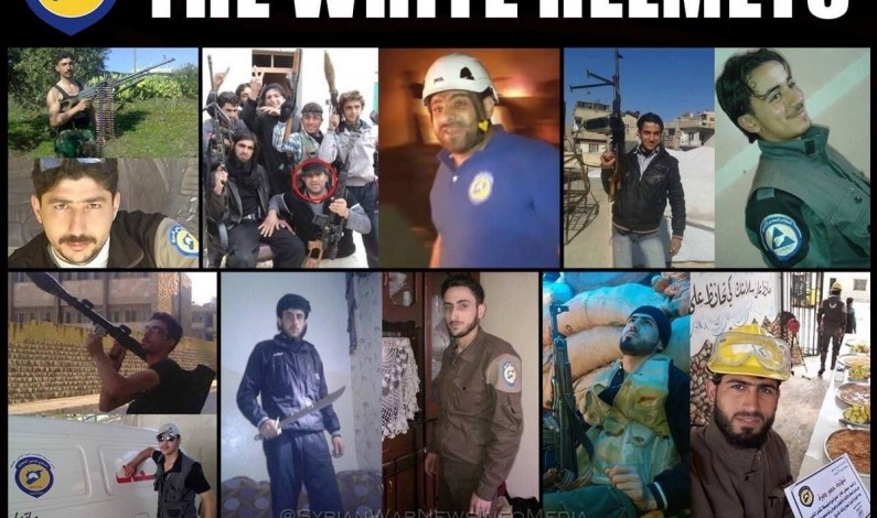 White Helmets allied with al-Qaeda on Damascus water terrorism