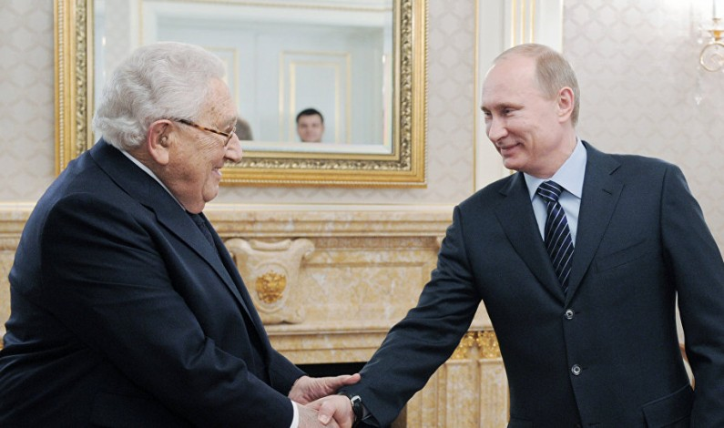 Will Kissinger be a private bridge between Trump and Putin?