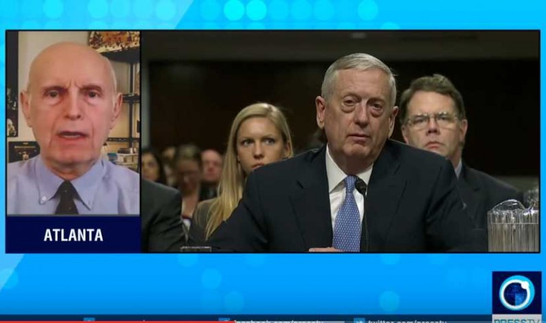 """General Mattis promises to """"restrain"""" Iran if approved"""