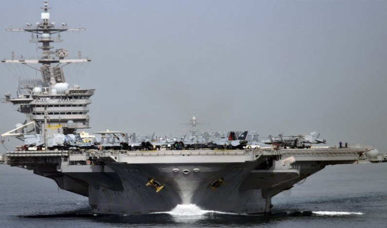 No US Aircraft Carriers Now Deployed; None Expected in Middle East for Months