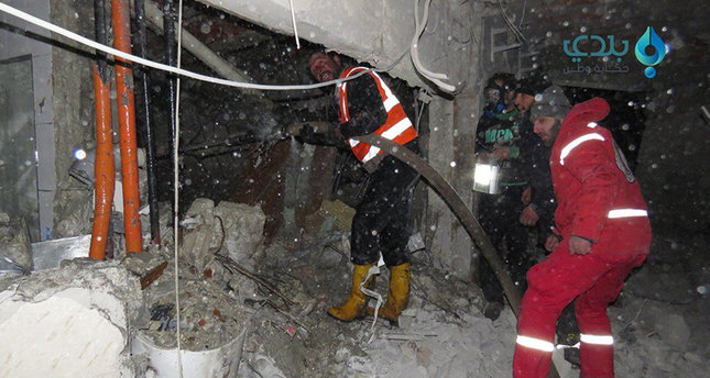 Turkish Red Crescent HQ in Syria's Idlib targeted in airstrike, US led coalition hit the building