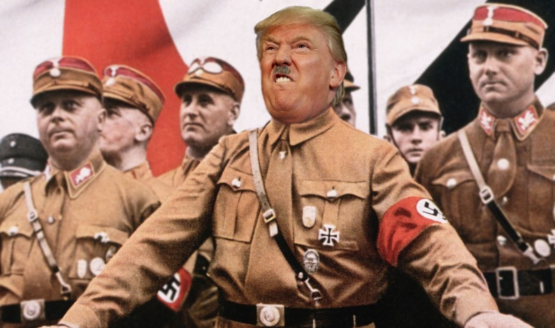 Trump is the new Hitler and the US is a Fascist state