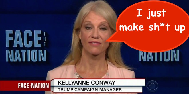 "Kellyanne Conway can't stop lying! ""Bowling Green Massacre bad guys"" were NOT terrorists"