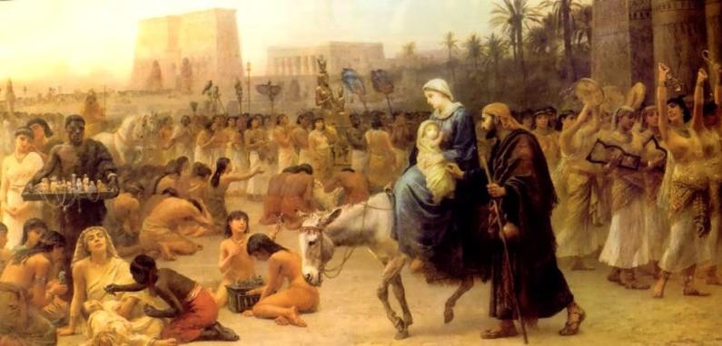 Is Holy Family's flight into Egypt Myth?