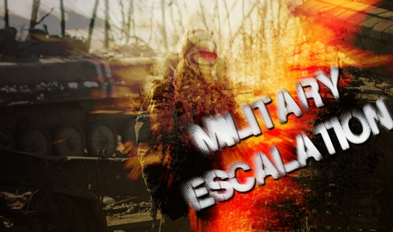Military Escalation In Eastern Ukraine In Last Days Of January