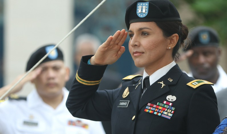 Neocons are mad and sad because Tulsi Gabbard is kicking their butts