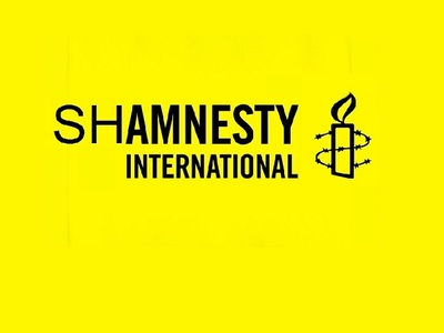 Shamnesty International: Fake Report undermines Trump policy