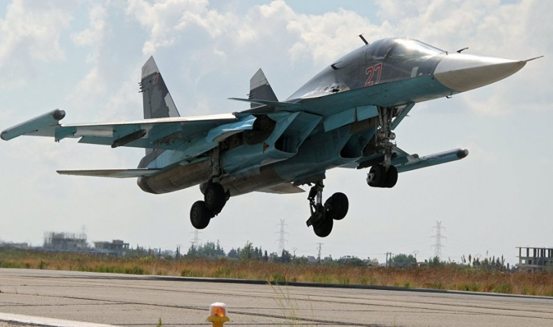 Aerospace Jam: Russia's Su-34 Bomber to Hide Entire Squadron From Enemy Radar