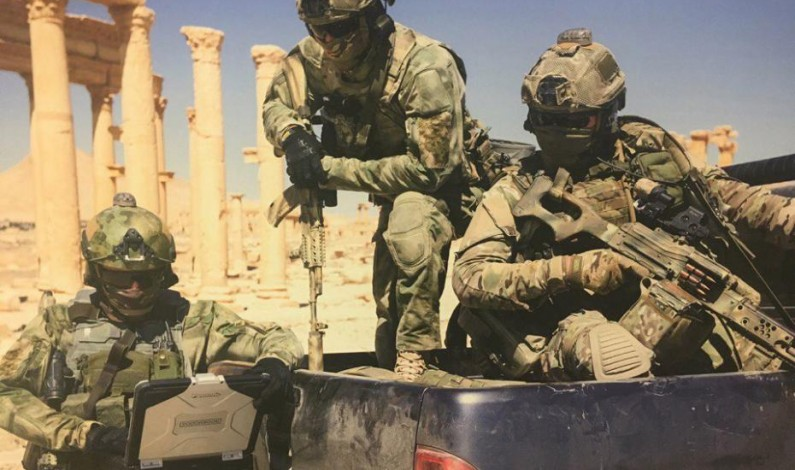 Russian Special Forces help destroy ISIS in Palmyra