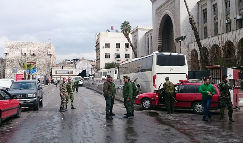 Breaking: Syrian Palace of Justice suicide-bombed