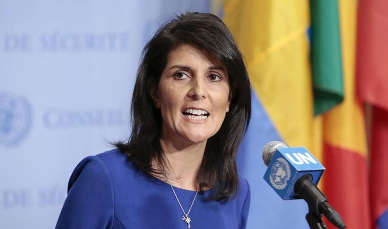 'Never trust Russia,' says new US ambassador to UN