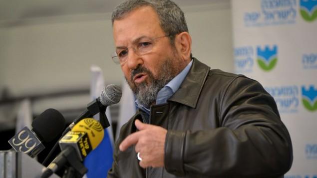 Ehud Barak warns against taking Trump at his word