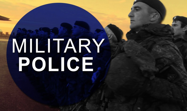 Russian Military Police And Its Deployment In Syria