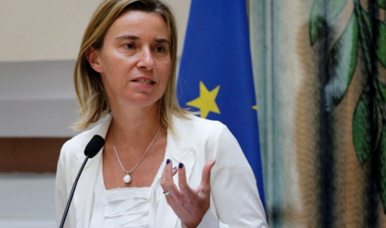 EU foreign policy chief defends Iran nuclear deal
