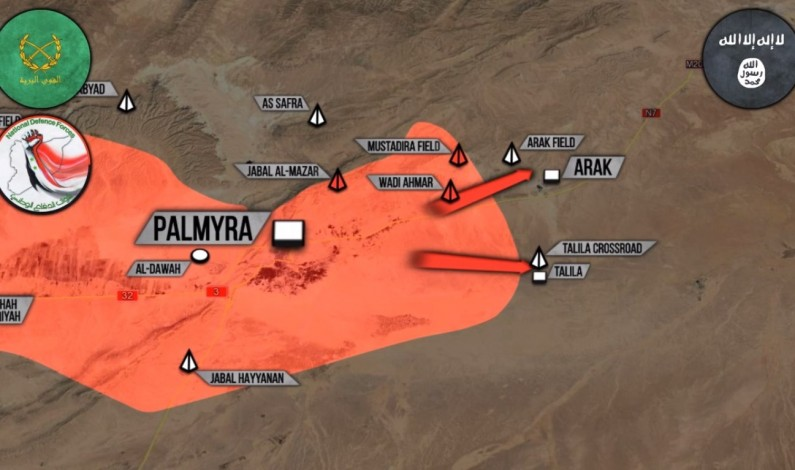 Syrian War Report – March 16, 2017: Syrian Army aims to regain more gas fields near Palmyra