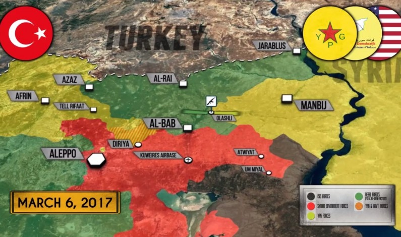 Syrian War Report – March 7, 2017: Further Escalation In Northern Syria