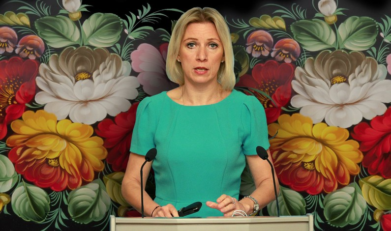 "Maria Zakharova to CNN reporter: ""stop spreading lies and fake news"""