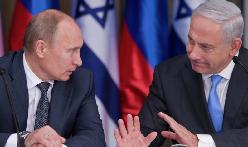 Time for Vladimir Putin to tell Benjamin Netanyahu to shape up or ship out