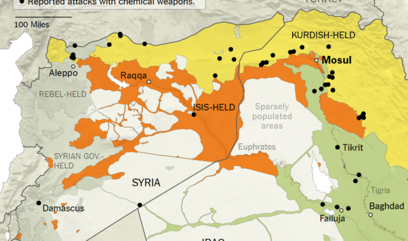U.S. and Turkey Have Long been Aware of ISIS' ChemicalWeapons