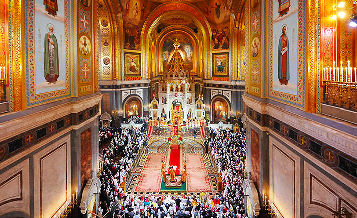 3 Cathedral Of Christ The Saviour Interior Veterans Today