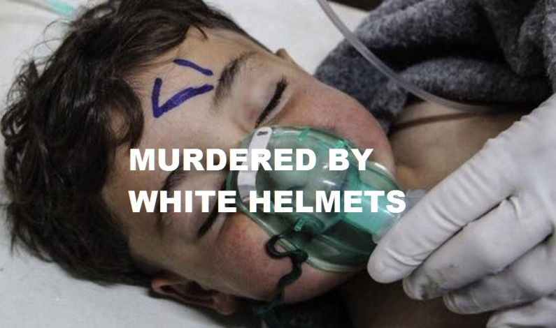 Ordered Censored by Trump: Swedish Medical Associations Says White Helmets Murdered Kids for Fake Gas Attack Videos