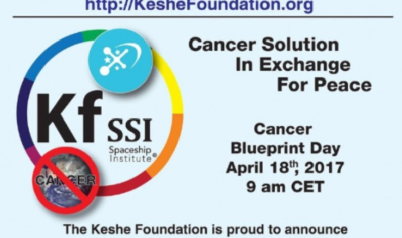 Breaking: Keshe Cancer Announcement Broadcast