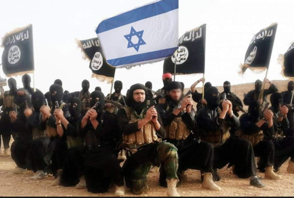 Image result for ISIS ISRAEL