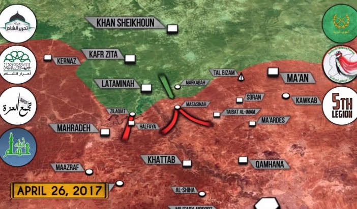 Syrian War Report – April 26, 2017: Turkey Bombing US-backed Forces In Syria