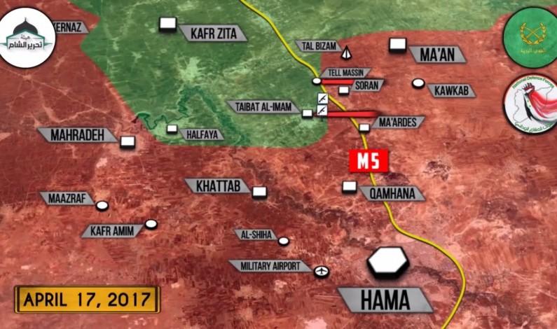 Syrian War Report – April 17, 2017: Govt Forces Reversed All Militant Gains In Northern Hama
