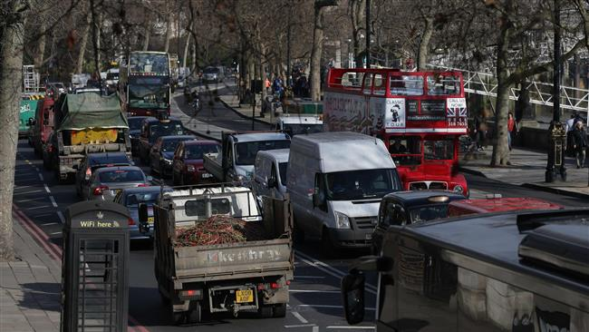 '59% of Britons live in areas where diesel pollution threatens health'