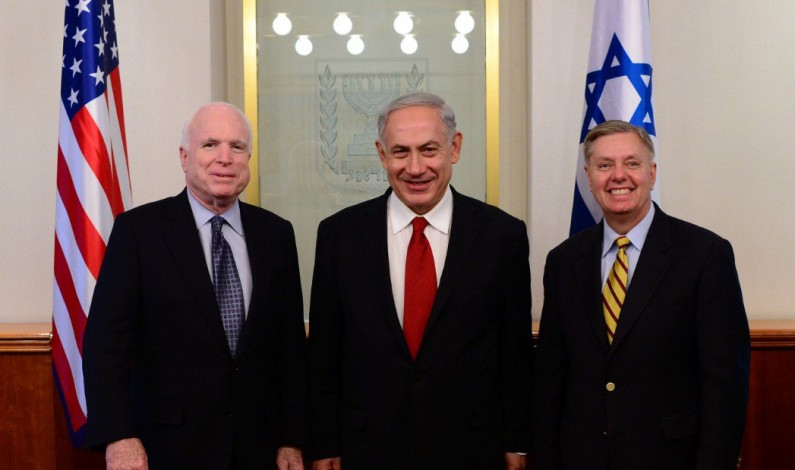 Lindsey Graham and John McCain: We want to bring the apocalypse in North Korea—for Israel