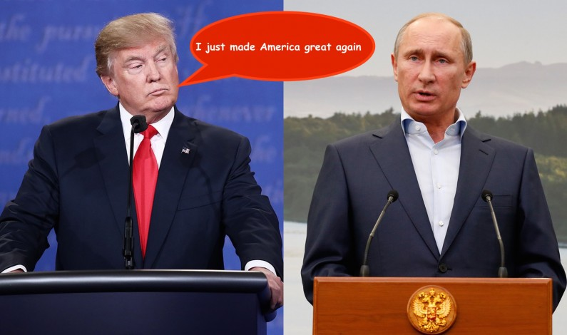 Trump cuts trade deal of the century –swaps himself for Putin