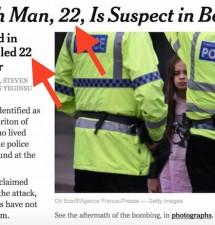 """Manchester false flag: """"Man, 22, kills 22 on May 22"""""""