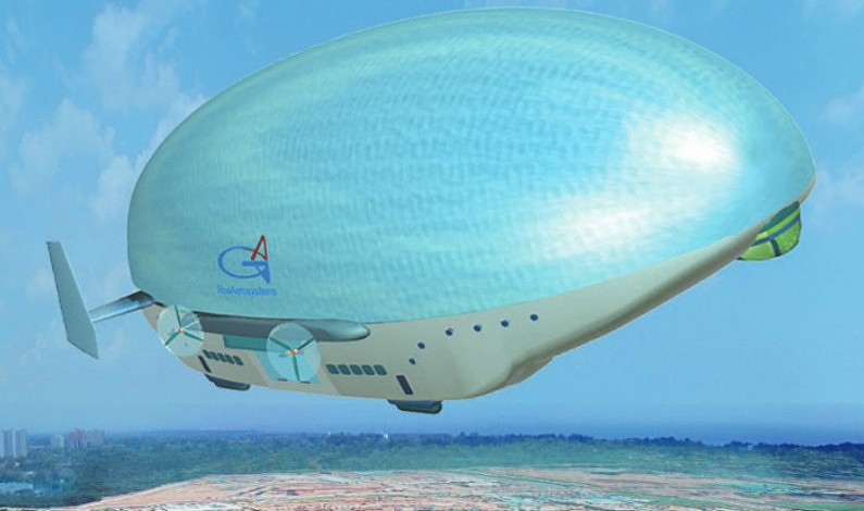 Russian Engineers Develop New Surveillance, Missile Defense Airships