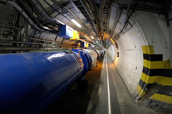 Pravda: Large Hadron Collider to Contact Hell
