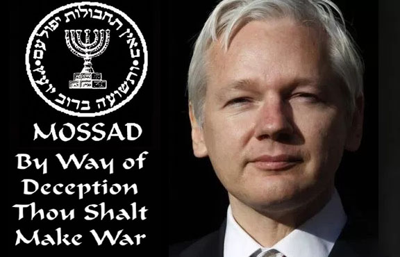 Assange, Wikileaks and how Israel enslaved the British