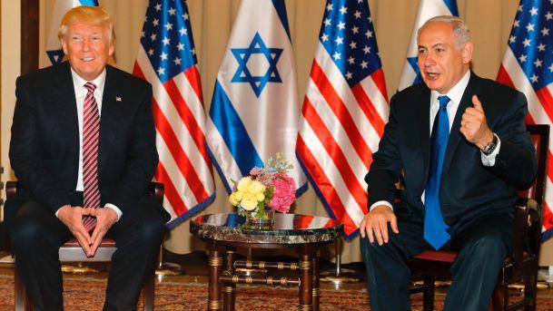 Israelis: 'Trump Is Israel's President' – Except when Trump Talks 'Peace'