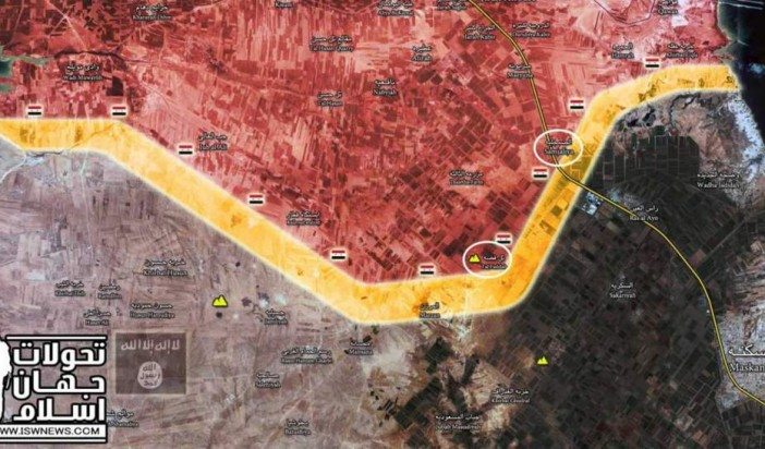 Syrian Tiger forces flanking last ISIS stronghold in eastern Aleppo area