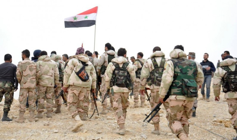 US-Backed militants attack Syrian Army at Damascus-Baghdad highway