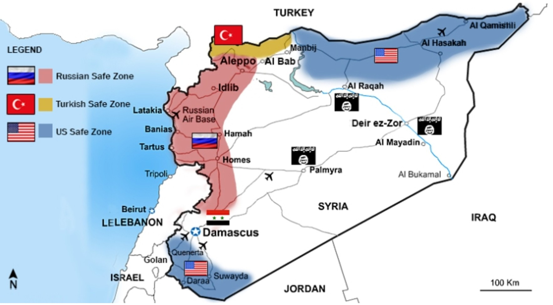 Safe zones in Syria Astanas key to political settlement Veterans