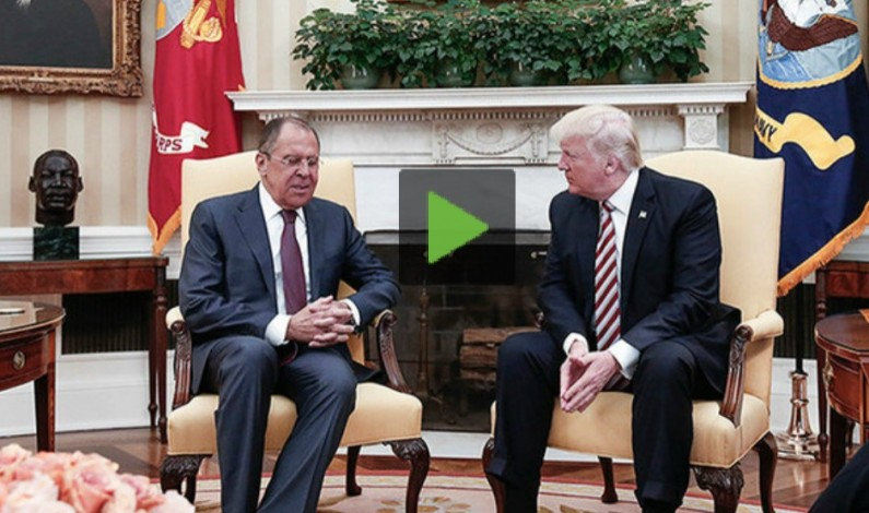 The Russian White House, Trump Steps His Foot in It