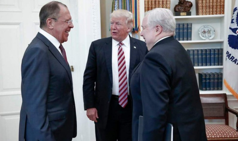 Classified/Exclusive: Trump, Lavrov Briefing Leak from Russia