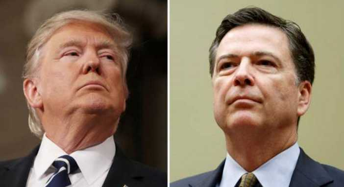 Comey Backs Trump