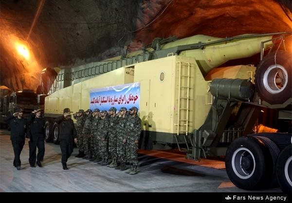 Iran has built 3rd underground ballistic missile factory: official