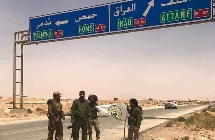 Breaking: Iraqi Popular Militias reach Syria border