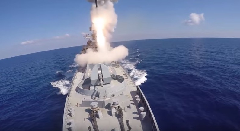 Russia fires cruise missiles at Daesh in Syria